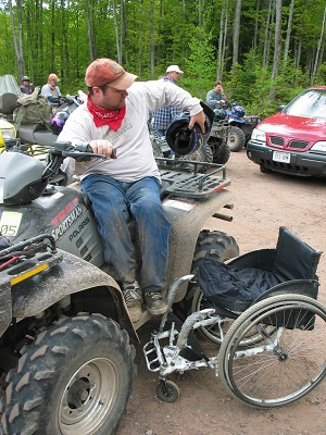 ATVs for those with Disabilities