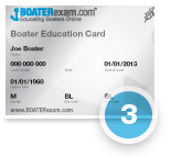 Apply for your Safe Boating Certificate