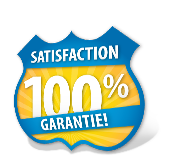 100% satisfaction guarantie!