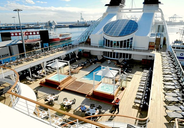 Seabourn's Odyssey Deck