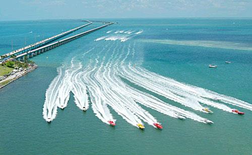 Réactivité, agilité et rapidité des speed boats