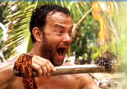 Tom Hanks in Castaway