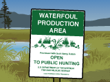 Public Land Open to Hunting