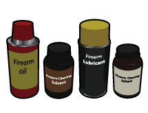 Solvents, Oils, and Grease