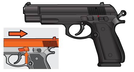 Semi Automatic Pistol