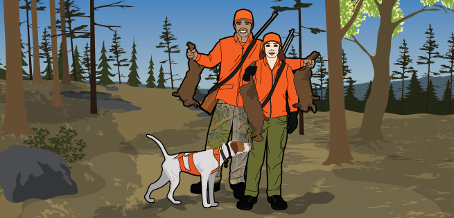 Hunting with Dogs