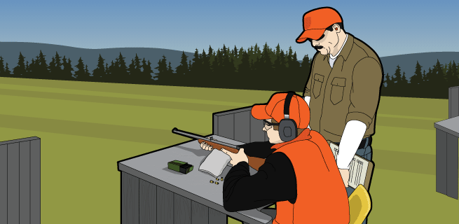 Shooting a Rifle