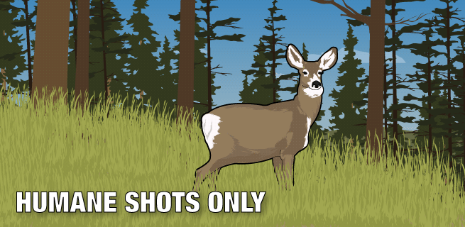 Humane Shots Only
