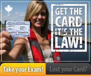 Get Your Pleasure Craft Operator Card — It's The Law!