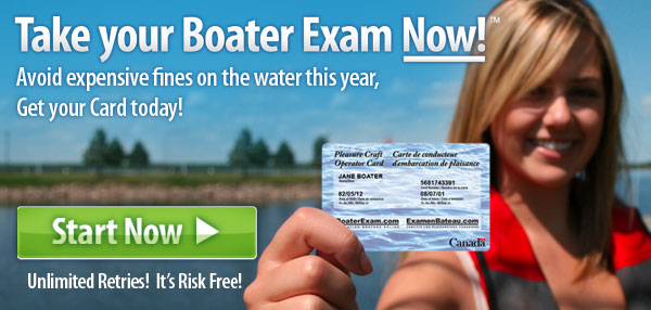 Take your Boater Exam Now! Avoid expensive fines on the water this year, Get your card today!