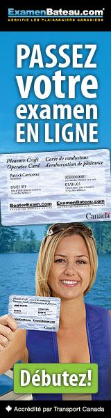 Obtenez votre permis de bateau en ligne!