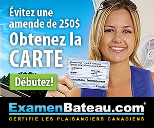 Passez votre examen de bateau en ligne!